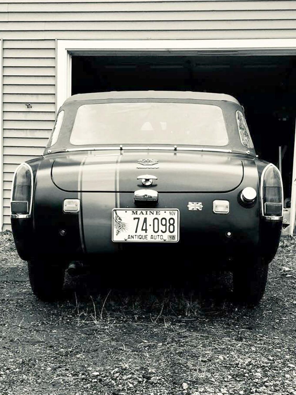 1969 MG Midget - Hamilton Rear