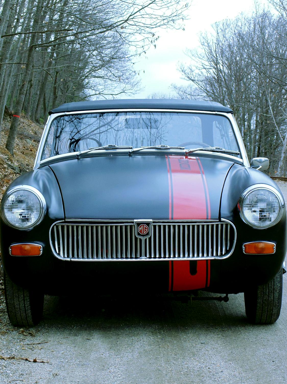 Hamilton - 1969 MG Midget front view